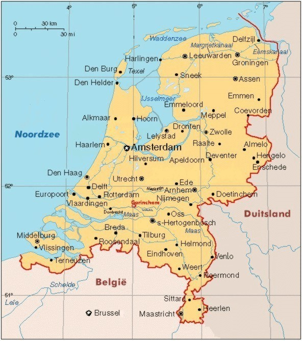 Gorinchem Netherlands  City new picture : Gorinchem is in the center of the Netherlands: